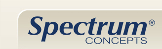 Spectrum Concepts the leader in furniture storage and organization components.